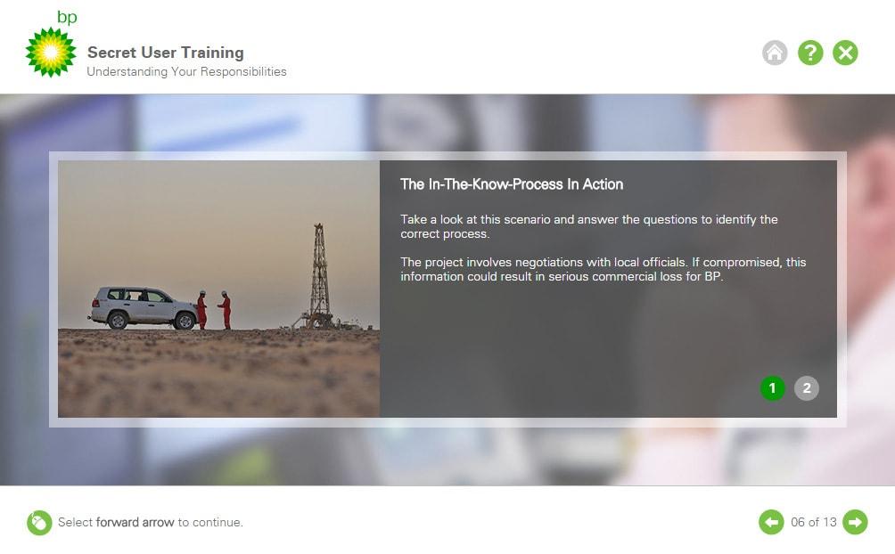 Secret User Training (HTML)