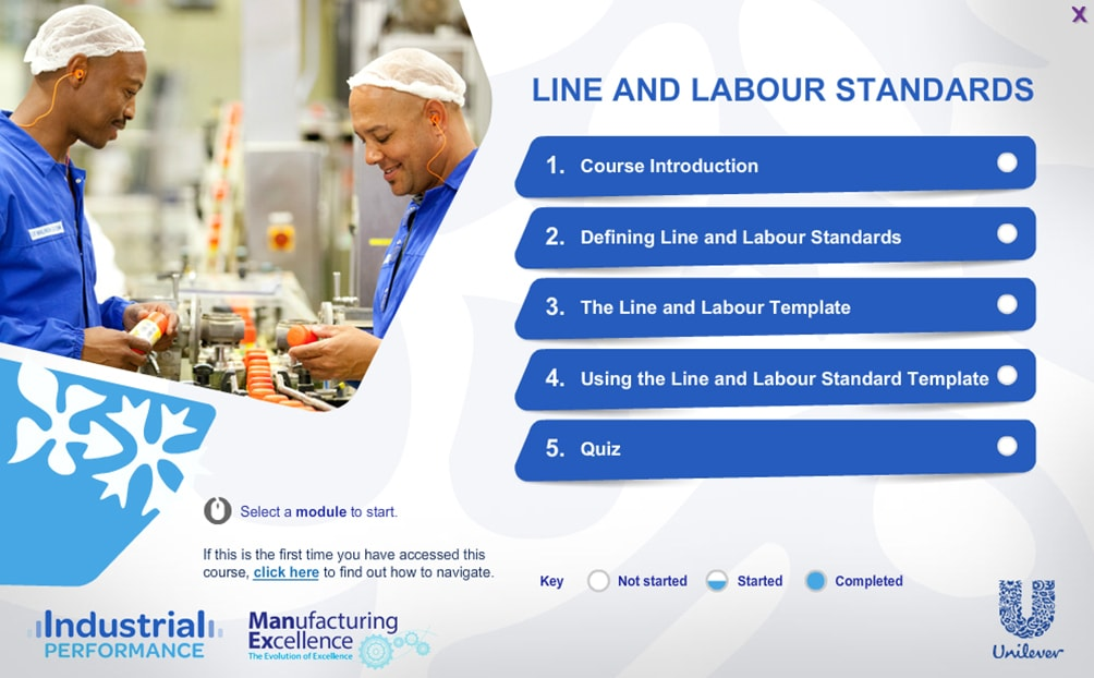 Line And Labour Standard