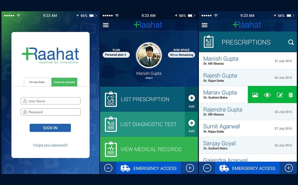 Raahat (Mobile App)
